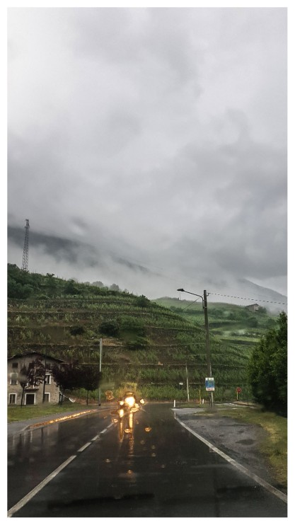 Fuga in Valtellina